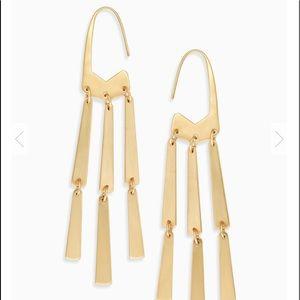 Kendra Scott Gold Mallie Earrings